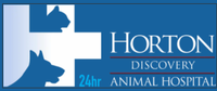Horton Animal Hospital - Discovery Logo